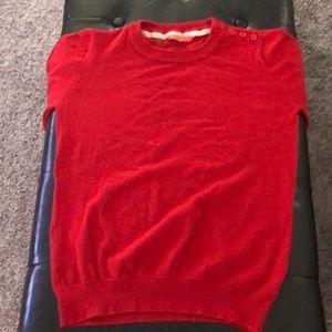 Red sweater women's medium